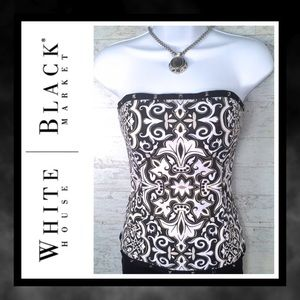 👚WHBM Toffee Art Bustier